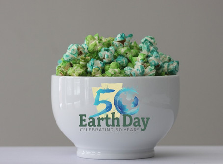 50th Earth Birthday Popcorn
