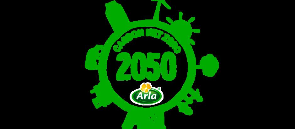 """Arla """"Ab 2050 CO2-neutrale Milchwirtschaft"""" ..."""