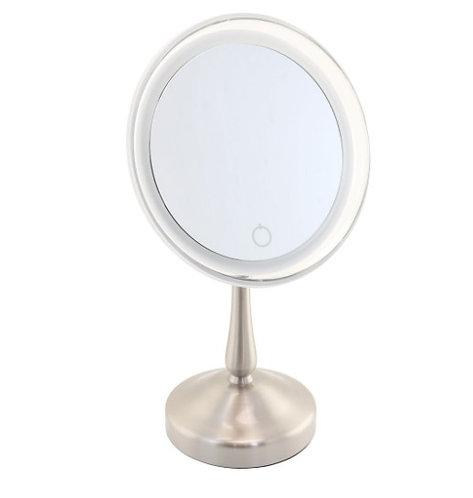 Miroir 1 face éclairant 8x