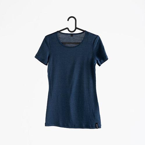Merino-Seide-T-Shirt Women