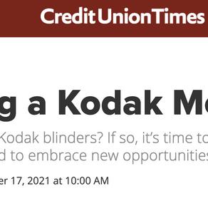Avoiding A Kodak Moment