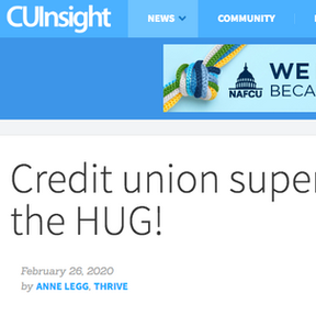 Credit Union Super Power - the HUG