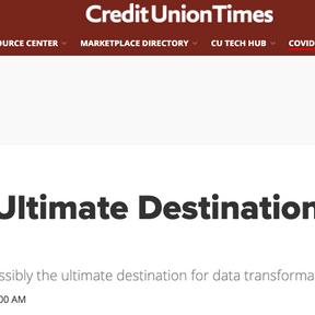 CU TImes: Ultimate Destination of a Data Journey