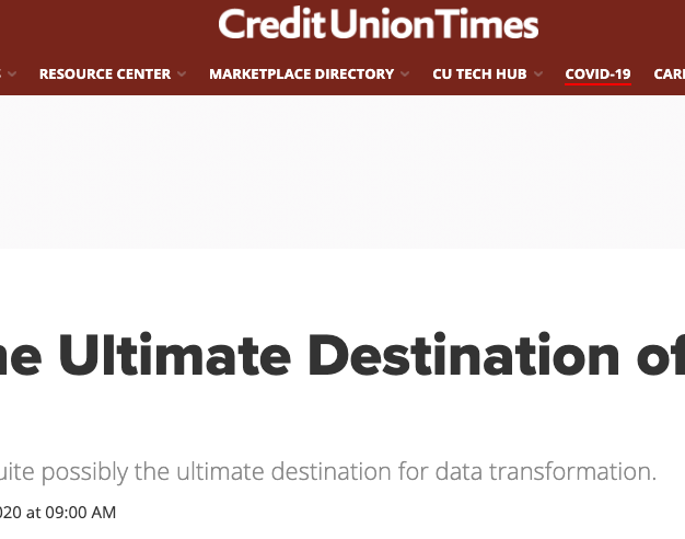 CU TImes: Ultimate Destination of a Data Journey