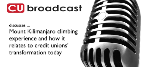 CUBroadcast Interview: Credit Union insights from post-climb experience