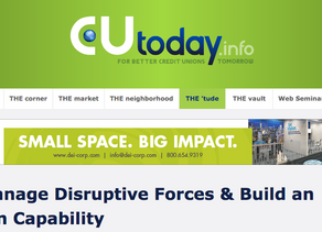 How to Manage Disruptive Forces & Build an Innovation Capability