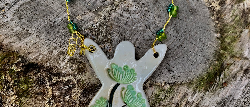 Ha Austin Angel Ornament