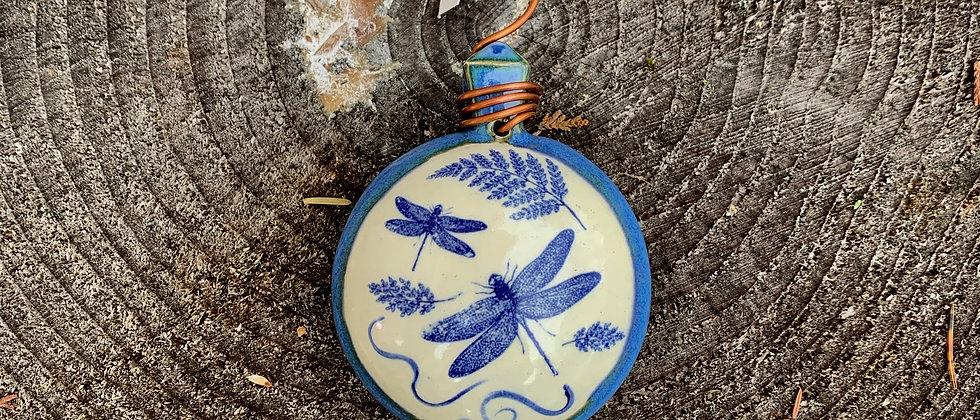 Terri Axness Dragonfly Ornament
