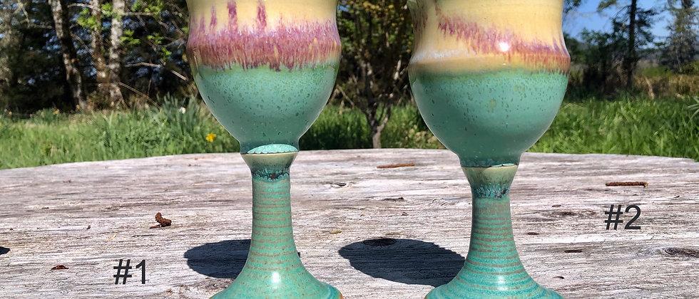 Cross Creek Clay Goblets