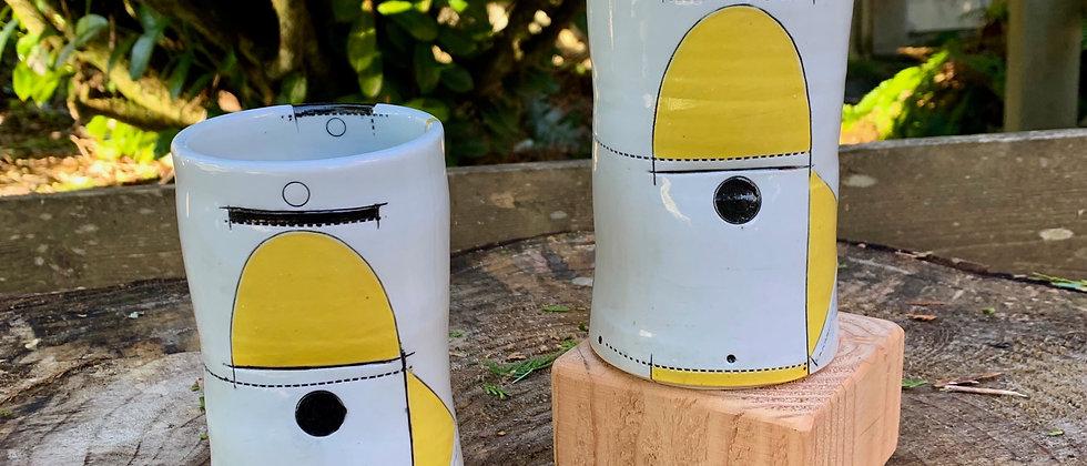 Jim Koudelka Yellow Tumbler Set #4