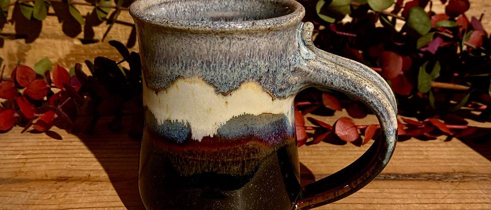Blue Spruce Pottery Small Mug - Obsidian