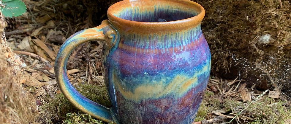 Cascadia Large Round Mug-Lavender Sunset