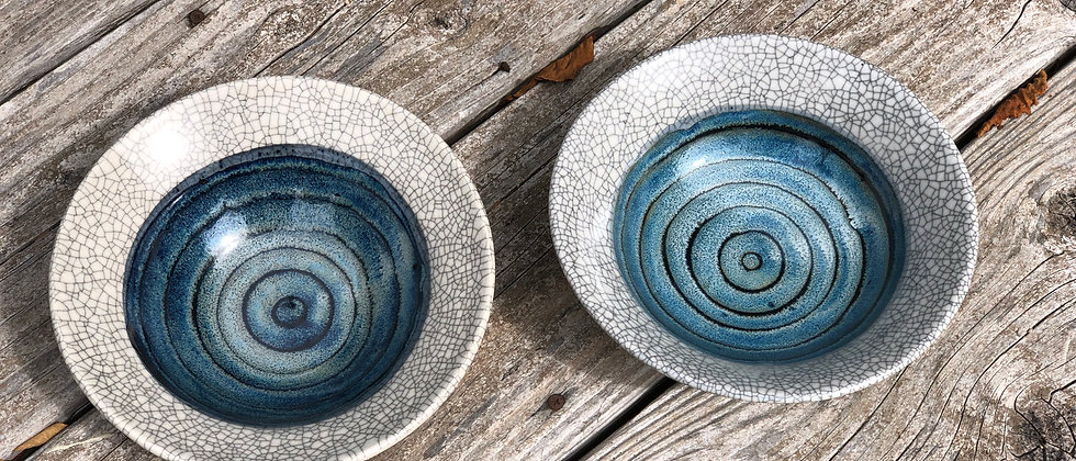 Ray Foster Crackle Bowls