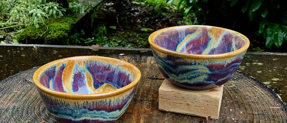 Cascadia Cereal Bowl Set - Lavender Sunset