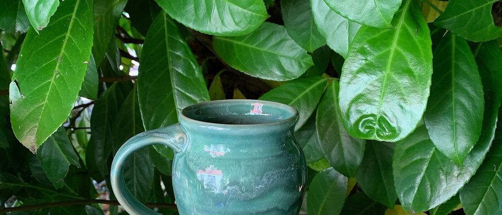 Cascadia Small Round Mug -Seafoam