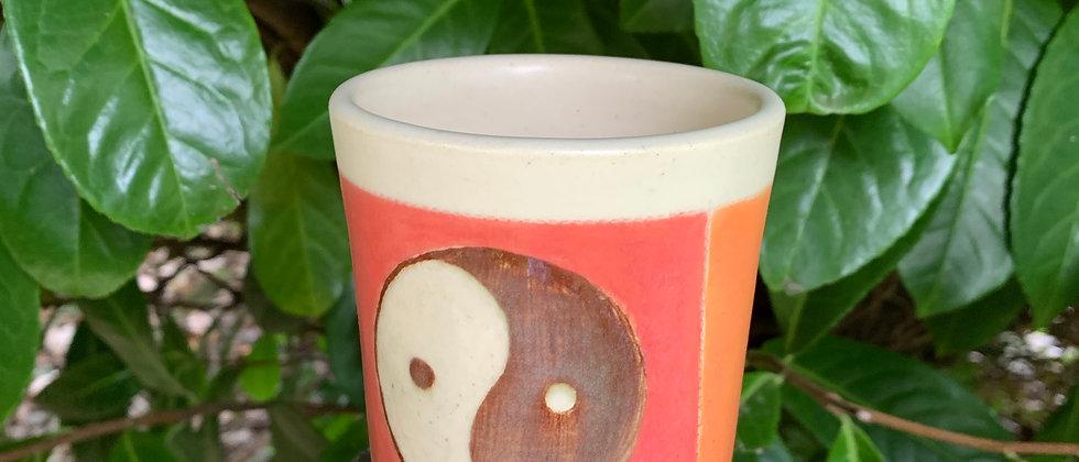 Cross Creek Clay Ying Yang Bird Cup