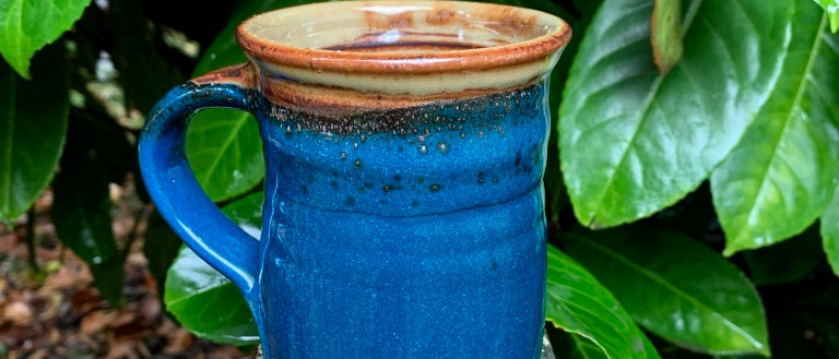 Chris Johnson Mug - Deep Blue