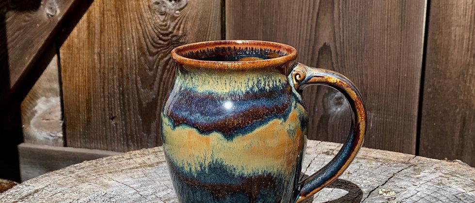 Cascadia Large Round Mug - Goldstone