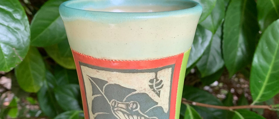 Cross Creek Clay Frog Cup