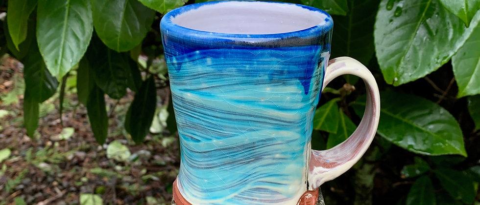 Jim Koudelka Blue Wave Mug