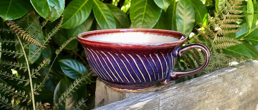 Janet Buskirk Oversized Tea Cup