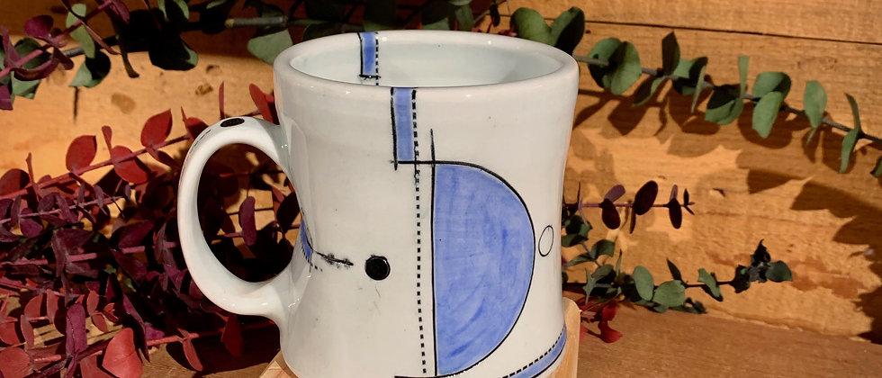 Jim Koudelka Blue Mug