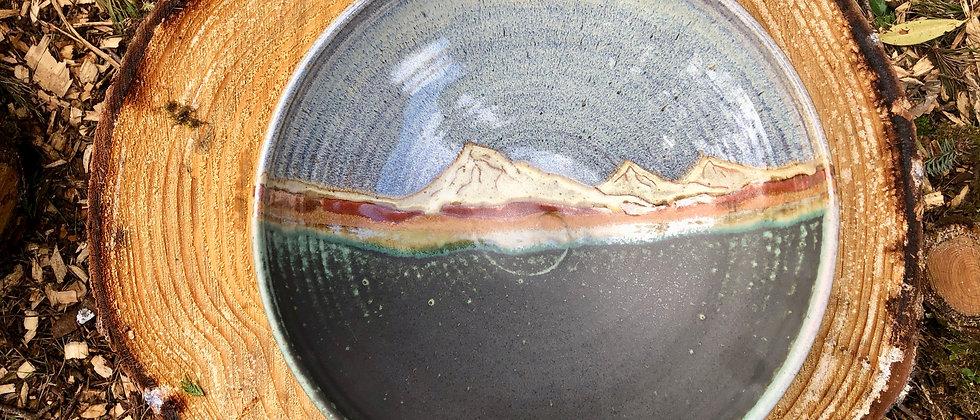 Blue Spruce Pottery Large Bowl