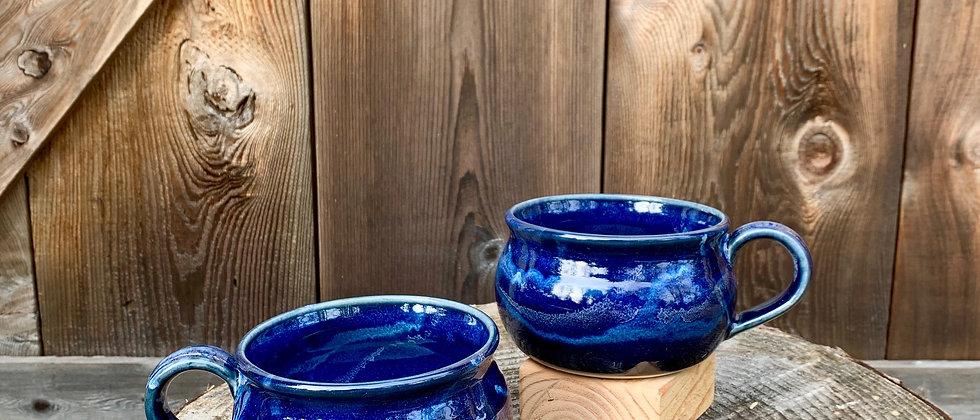 Cascadia Soup Bowl Set - Midnight Blue