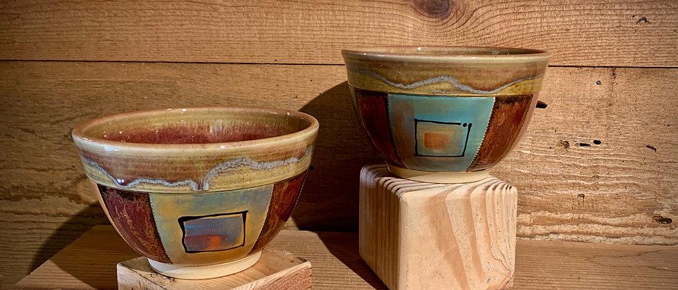 Cross Creek Clay Soup Bowl Set