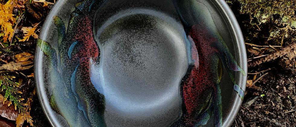 Cascadia Stoneware Ceral Bowl - Black Galaxy #2