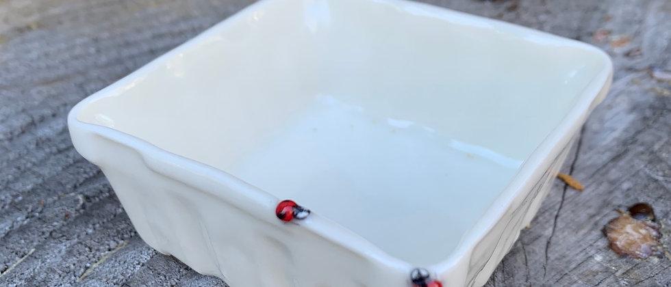 JamPDX Half Pint Ladybug Berry Box