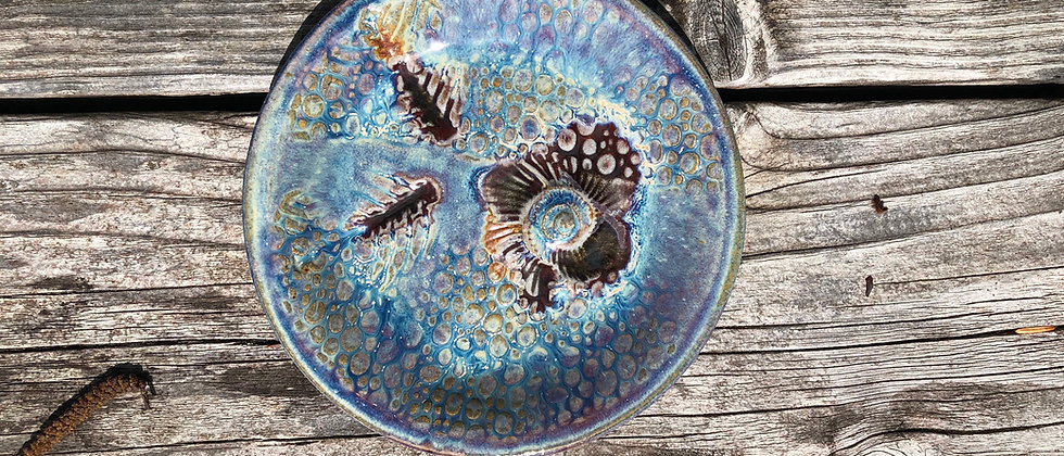 Janet Buskirk Fossil Small Plate #1