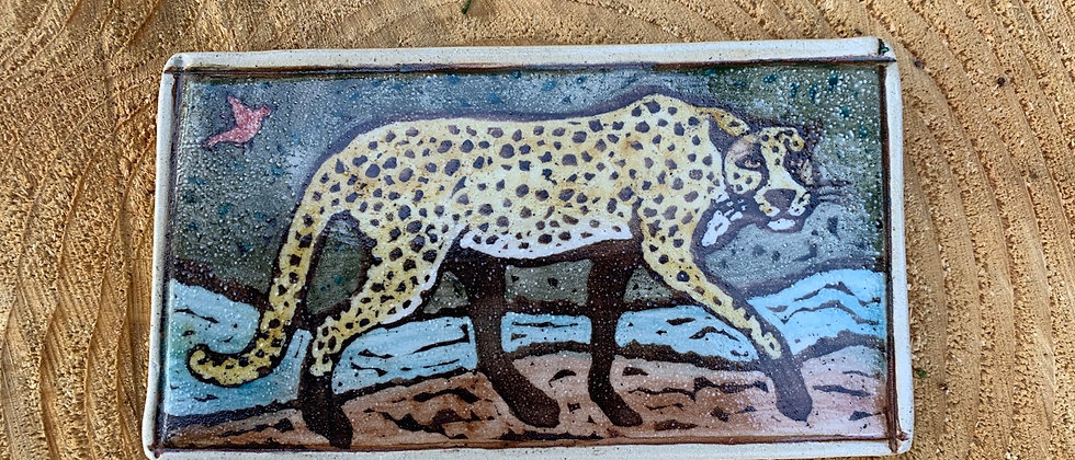 Paula Teplitz Cheetah Tile