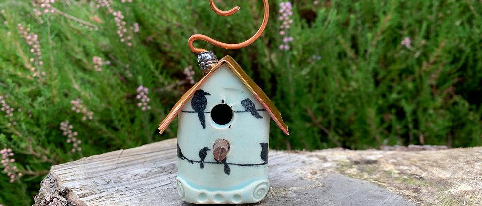 Terri Axness Bird House Ornament