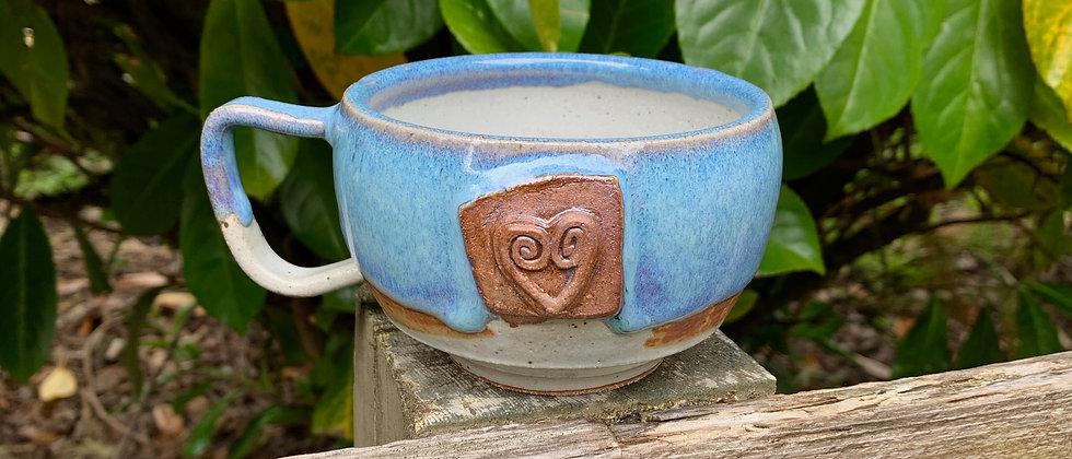 Rabun Thompson Blue Heart Teacup