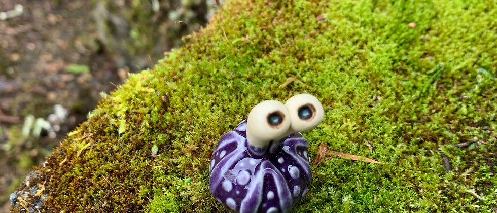 Scott Livesay Urchin #4 Purple