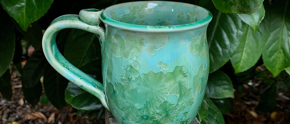 Nelson Crystalline Mug - Green
