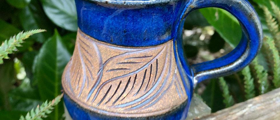 Lynne Brown Leaf Mug