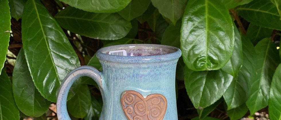 Rabun Thompson Heart Mug - Blue