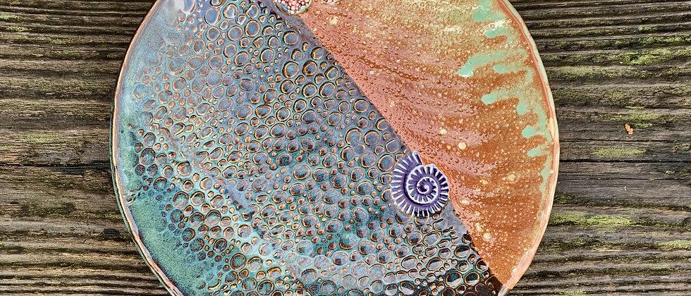 Scott Livesay Large Sea Plate #2