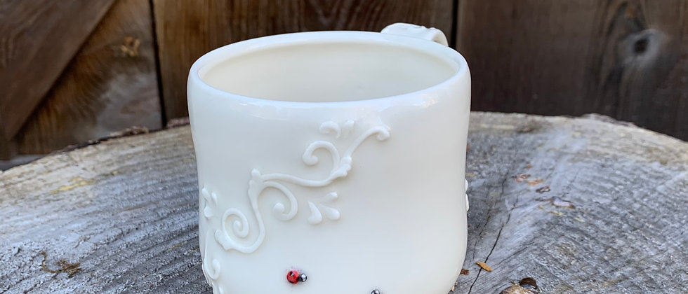 JamPDX Ladybug Mug #2