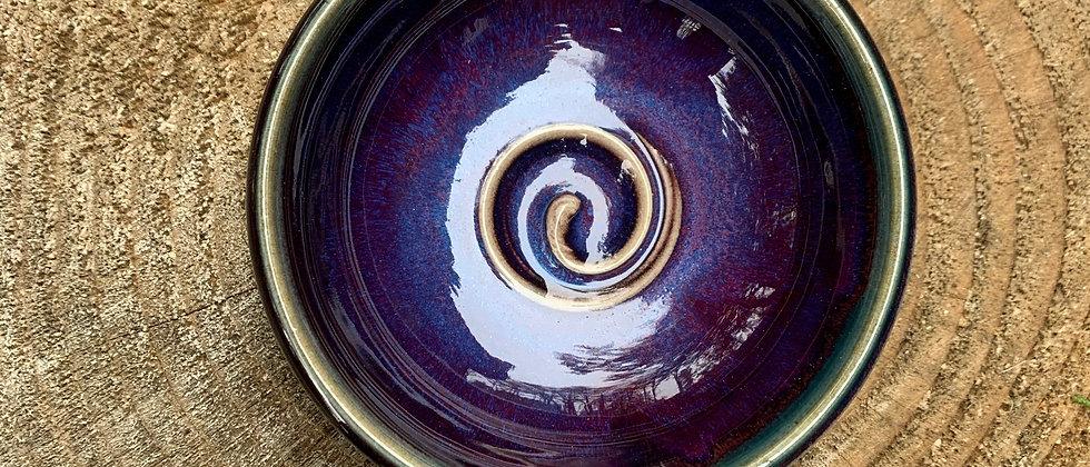 Janet Buskirk Small Purple Bowl
