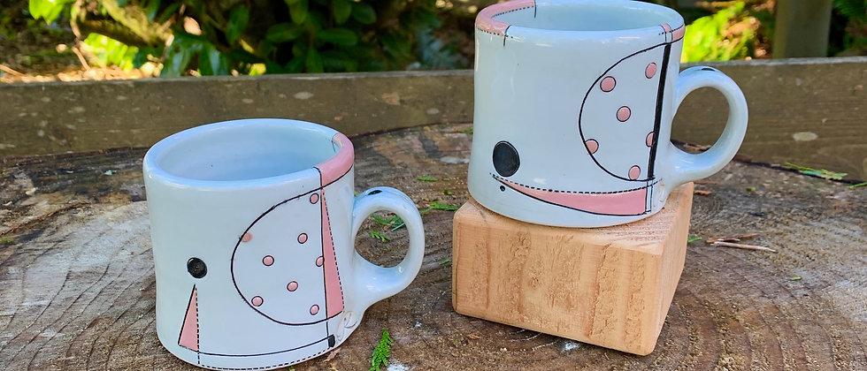 Jim Koudelka Pink Mug Set #1