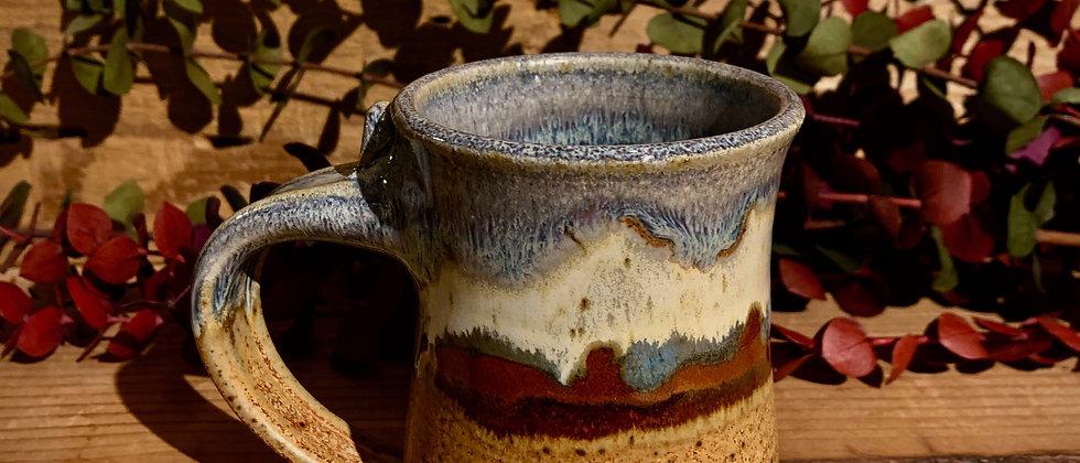 Blue Spruce Pottery Small Mug - Desert