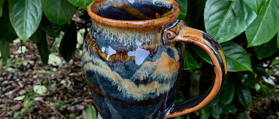 Cascadia Large Round Mug - Goldstone #2