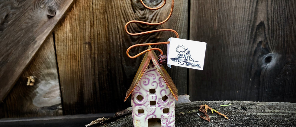 Terri Axness Cottage Ornament -Flowers & Vines