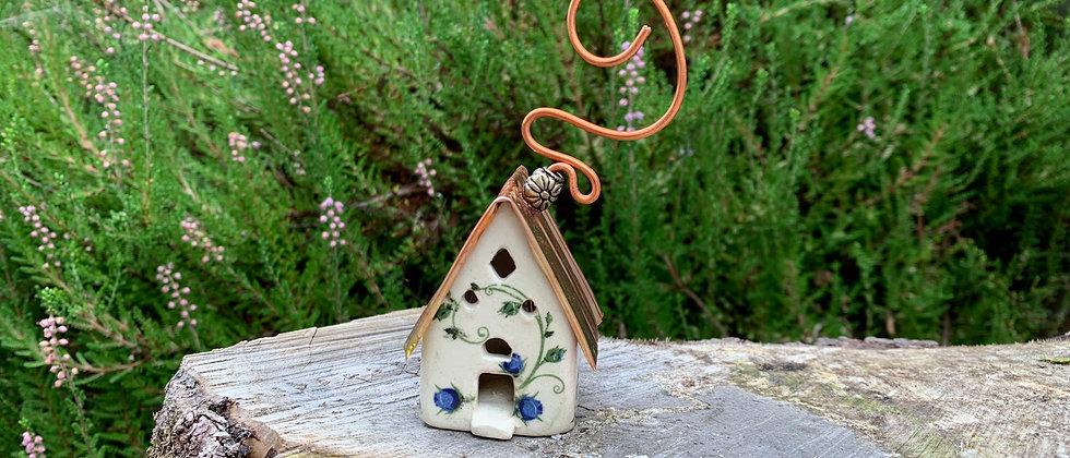 Terri Axness Cottage Ornament -Flowers