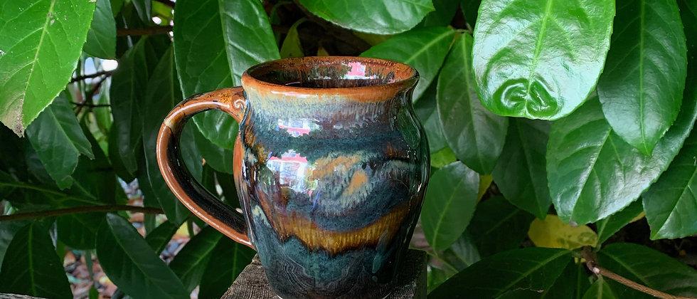 Cascadia Small Round Mug - Goldstone