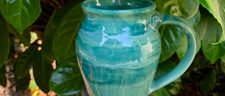 Cascadia Large Round Mug - Seafoam