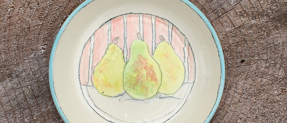 Newcomer Pear Plate